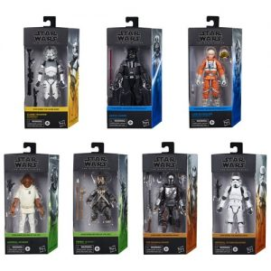 Star Wars The Black Series 6-Inch Action Figures Wave 1 Complete Set