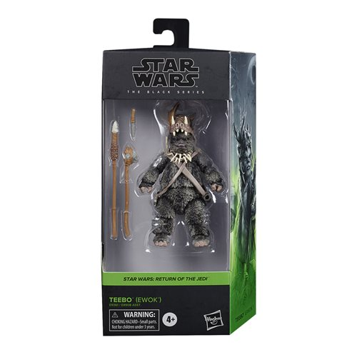 Star Wars The Black Series Teebo the Ewok 6-Inch Action Figure