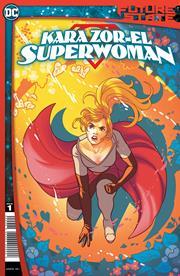 FUTURE STATE KARA ZOR-EL SUPERWOMAN #1 (OF 2) CVR A PAULINA GANUCHEAU