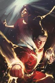 FUTURE STATE SHAZAM #1 (OF 2) CVR B GERALD PAREL CARD STOCK VAR