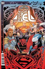 FUTURE STATE SUPERMAN HOUSE OF EL #1 (ONE SHOT) CVR A YANICK PAQUETTE