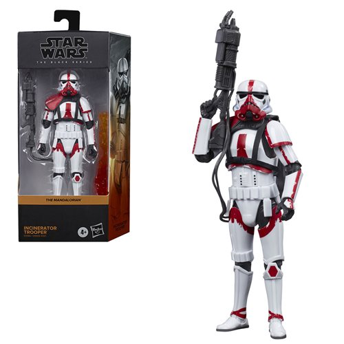 Star Wars The Black Series Incinerator Trooper 6-Inch Action Figure
