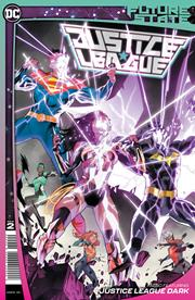 FUTURE STATE JUSTICE LEAGUE #2 (OF 2) CVR A DAN MORA