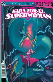 FUTURE STATE KARA ZOR-EL SUPERWOMAN #2 (OF 2) CVR A PAULINA GANUCHEAU