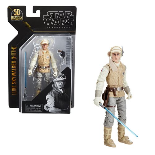 Star Wars The Black Series Archive Luke Skywalker (Hoth) 6-Inch Action Figure
