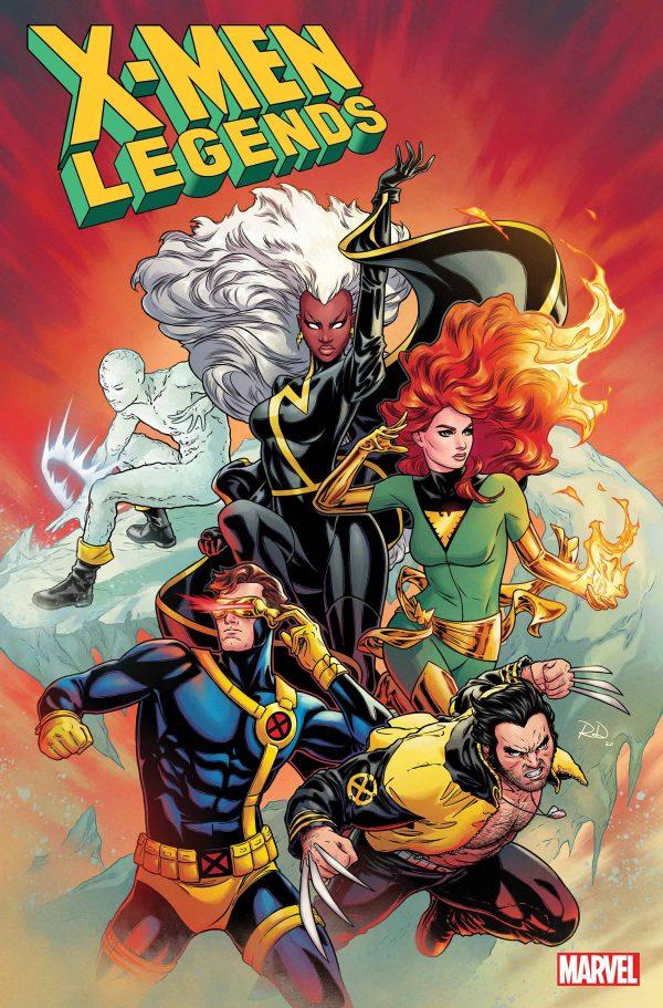 X-MEN LEGENDS #1 1:25 DAUTERMAN VAR