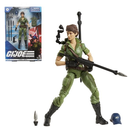 G.I. Joe Classified Series 6-Inch Lady Jaye Action Figure