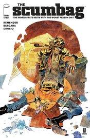 SCUMBAG #10 CVR A BERGARA & DINISIO (MR)