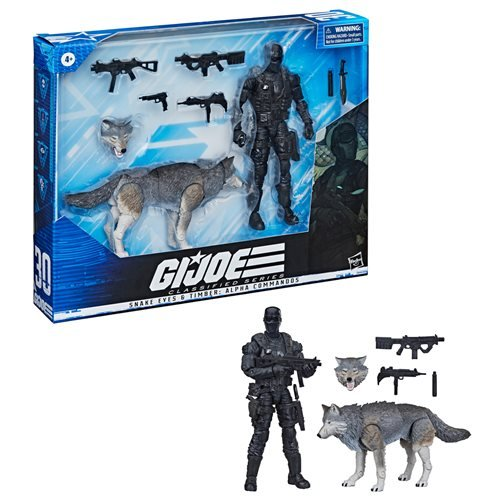 G.I. Joe Classified Series Snake Eyes and Timber: Alpha Commandos 6-Inch Action Figures