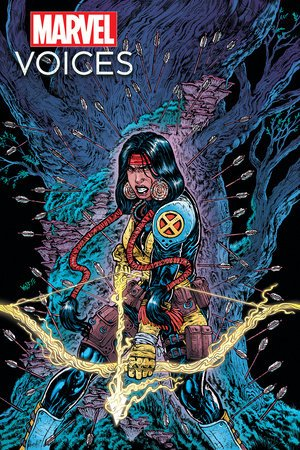 MARVELS VOICES INDIGENOUS VOICES 2021 #1 WOLF NATIVE AMERICAN HERITAGE MONTH VAR